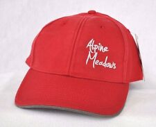 *ALPINE MEADOWS RESORT CALIFORNIA* Ski Snowboard Structured Ball cap hat OURAY
