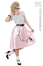 Widmann 58442 Costume anni 50s Poodle Girl M