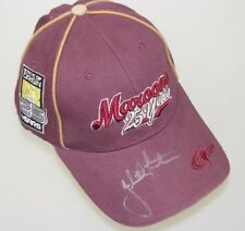 JOHNATHAN THURSTON Hand Signed Cap 1  2015 Queensland Cowboys
