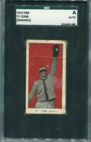 TY COBB 1910 E98 RED BACKGROUND🔥RARE📈INVESTMENT CARD HOF TIGERS🔥SGC AUTHENTIC