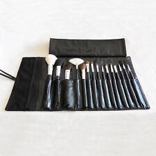 Professional Face Eye Cosmetic Makeup Brush Set Kit W/ Black Make Up Case Bag