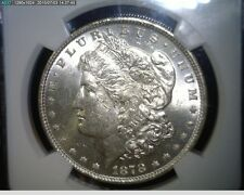 1878-P 7/8 TF Morgan Silver Dollar  - NGC MS 61  -  VAM 33 7/4 TF