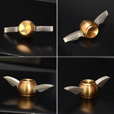 New Golden Snitch Harry Potter Fidget Spinner Hand Toy Metal With Box Gift