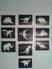 30 x dinosaur stencils boys  for glitter tattoos / cakes   Fund raising children