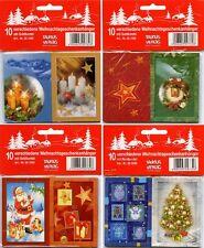 100 Weihnachtskärtchen Weihnachtsanhänger Geschenkanhänger 221050-00 TA