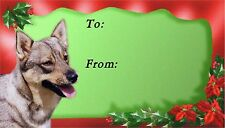 Swedish Vallhund Christmas Labels by Starprint