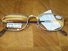 READING GLASSES GMS934  MAT SILVER SPRUNG TEMPLES 1.50