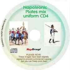 Stampe UNIFORMI DISCO 4, NAPOLEONICO, bucquoy, Prussia di Federico il Grande più