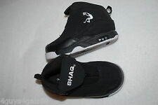 Toddler Boys Shoes BLACK MID TOP SNEAKERS Athletic SHAQ Zipper Fastening SIZE 7