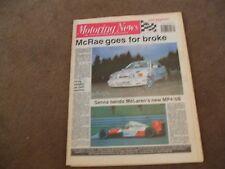 Motoring News 28 February 1990 Cartel Rally Miami IMSA RS500 Elan Nissan R89C