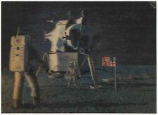 Apollo 11 Moon Walk, July 20, 1969, 3-D Lenticular Postcard