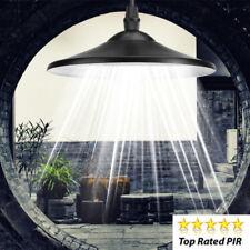 Garden Solar Powered  Light Outdoor Patio Decking Hanging Garage Shed LED Lamp