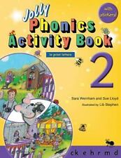Jolly Phonics Activity Book 2 (in Print Letters) by Sara Wernham and Sue...