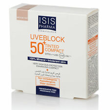 Very High Sun Protection Uveblock 50+ Medium Tinted Compact 10 g Intolerant skin