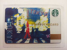 Starbucks Card 2010 Tokyo MINT RARE #6068 Second Version