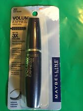 Maybelline Volum Express Mascara 201 Very BLK up t 3x Volume Builds Instanty