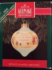 Hallmark Keepsake Betsey's Country Christmas Ornament 1992 Collector Series