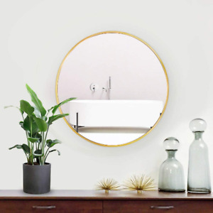 Oversize Round Gold or Silver Mirror