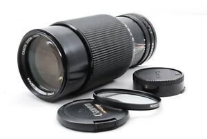 【N.Mint】Canon New FD NFD 70-210mm f/4 Zoom Lens For FD Mount from Japan SLR #990