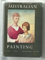 AUSTRALIAN PAINTING 1788-1960 by Bernard Smith 1962 First Edition Hc Dj COLOUR