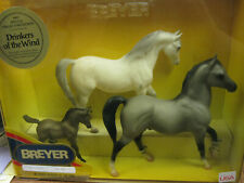 """New Breyer #700693 """"Drinkers Of The Wind"""" Arabian Family 1993 Special Collectors"""