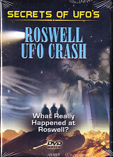 Secrets of UFOs - Roswell UFO Crash (DVD, 2006)  Brand New