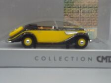 """Busch 40261 Ho Gauge 1:87 BMW 327 Cabriolet """" Cmd """", Yellow # New in Boxed#"""