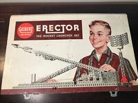 1959 Vintage GILBERT Erector Set Rocket Launcher Set
