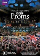 THE LAST NIGHT OF THE BBC PROMS (2011 - LIVE DVD SEALED + FREE POST)