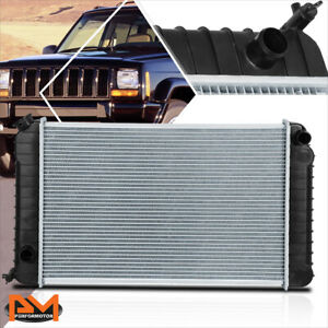 Aluminum OE Style Radiator for 82-90 Chevy S10/GMC S15 Pickup 2.8L AT DPI-0744