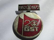 DDR ABZ. promemoria distintivo 20 anni GST SMALTATO 1952-1972