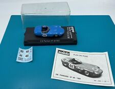 Solido Collectible - 2452 DB Panhard #48 1960 diecast model car 1/43 Scale