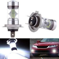 2 X H7 100W 10000K LED Car Auto Fog DRL Driving Car Head Light Lamp Bulbs White