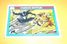 Spider-Man vs Kraven # 92 1990 Marvel Universe Series 1 Trading Card