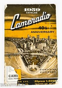 Cameradio Catalog 1959- Radios & Transceivers - Collins Hammarlund Hallicrafters