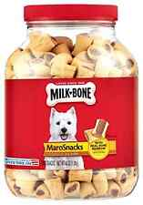 Dog Snack Food Flavor Biscuits Bone Marrow Meat Healthy Pet Puppy Treat 40oz New