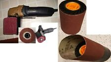 Hand Held Burnisher 2 Nonwoven wheel One expansion roll and 16 Belt fits Metabo