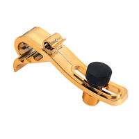 Durable Microphone Clamp Holder Stand Snare Drum Clip for Musical Gold