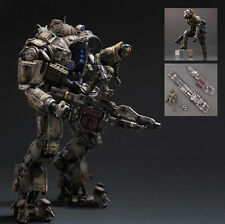 Play Arts Kai Atlas&Pilot Titanfall Armor Robot Action Figure Toy Doll Statue
