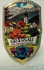 Grassau im Chiemgau used badge mount stocknagel hiking medallion G5596