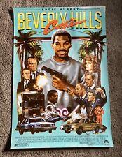 Eddie Holly BEVERLY HILLS COP (24x36) Art Print Poster RARE (OOP) #13/35