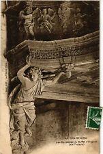 CPA  La Chaise-Dieu - Les Cariatides du Buffet d'Orgues (XVI siécle) (586022)
