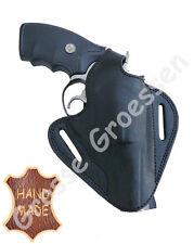 Revolverholster UNIVERSAL -Schwarz-  Leder - Handarbeit - Revolver-Holster