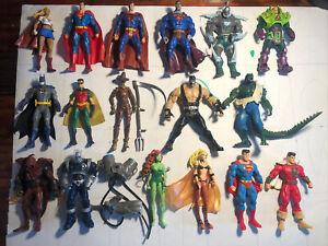 """DC Universe classics lot of 17 Mixed action figures LOOSE 6"""" Batman Superman DCU"""