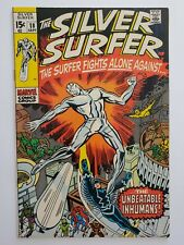SILVER SURFER #18 (FN-) 1970 INHUMANS COVER & APPEARANCE! JACK KIRBY ART
