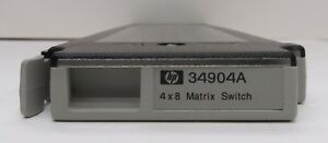Keysight Agilent HP 34904A 4x8 Matrix Module