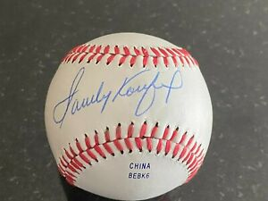Sandy Koufax Autographed Baseball with COA