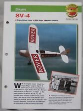 Aircraft of the World Card 15 , Group 15 - Stampe SV-4