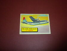 PLANES trading card #4 TOPPS 1957 Army Navy Marines Air Force PRINTED IN U.S.A