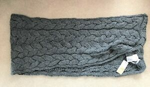 East Grey Wool Blend Scarves RRP 44 Euro's